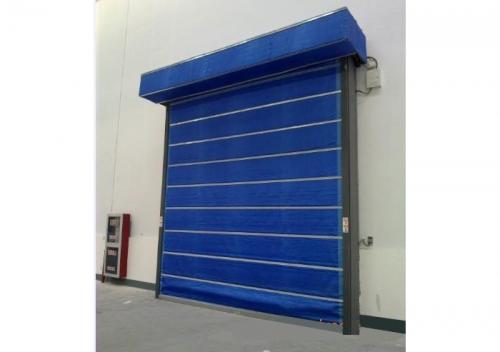 PVC防火卷帘门